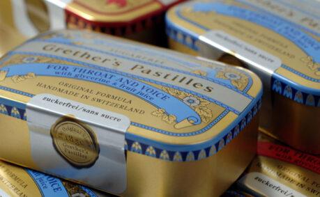 Herstellung Grether's Pastilles