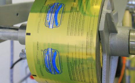 Verpackung Schlauchbeutel